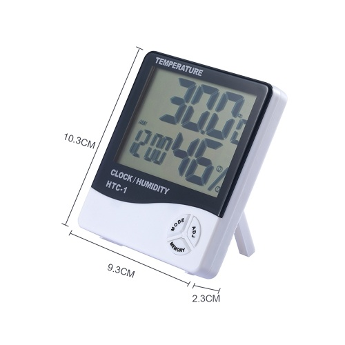 Digital Hygrometer Thermometer Indoor Humidity Gauge Temperature Indicator