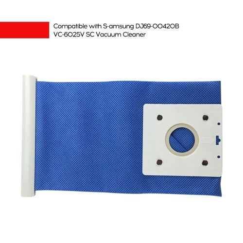 1Pc Dust Bag Spare Parts Compatible with S-amsung DJ69-00420B VC-6025V SC Vacuum Cleaner
