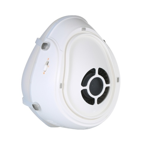 i-mu Half Face Smart Electric Masks with Adjustable Silicone Hook&Loop Strap Automatic Dust Respirator Air-purifying Mask