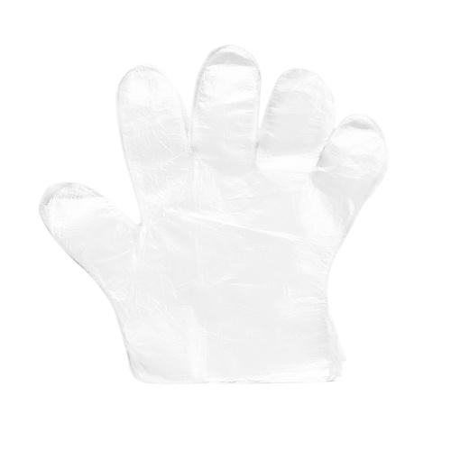 100 Stück / Tasche Einweghandschuhe Transparente PE-Handschuhe in Lebensmittelqualität Restaurant BBQ Küchenzubehör (normal)