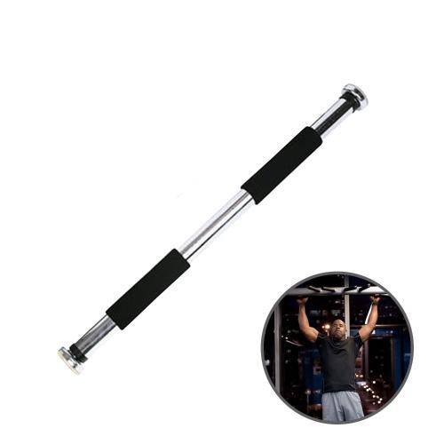 Barra de tiro ajustable de la puerta ajustable Entrenamiento de fuerza Ejercicio físico Estiramiento muscular sobre la barra de tiro de la puerta