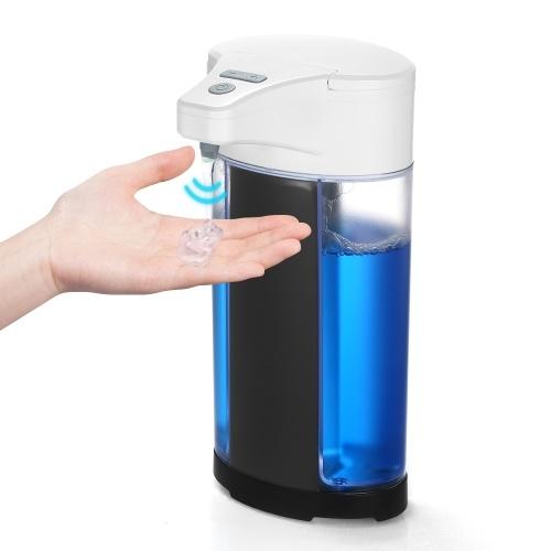 400ML Automatischer Seifenspender Berührungslose Hände Waschmaschine Einstellbare flüssige Hände Reinigungsseifenspender