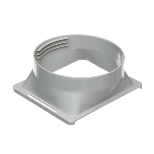 Interfaccia tubo di scarico quadrato per condotto diametro 5,91 pollici