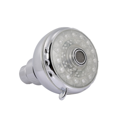 Pommeau de douche à effet pluie LED Pomme de douche ronde