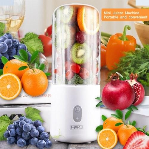400ml Mini Bottle Juicer Machine Portable Juicer Mini Mixer Blender