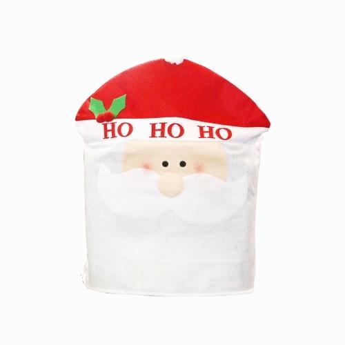 Protetor de cadeira de Natal com capa protetora de assento capa deslizante para cadeira