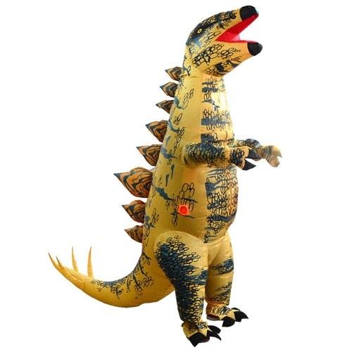Fantasia engraçada de dinossauro inflável Blow Up