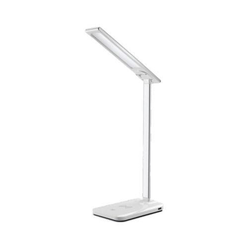 Lámpara de mesa regulable de carga inalámbrica de 5W Lámpara de mesa regulable de carga inalámbrica