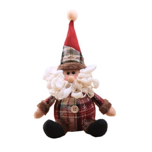 Bonecos de pelúcia de Natal Boneco de neve de Natal Papai Noel de pelúcia
