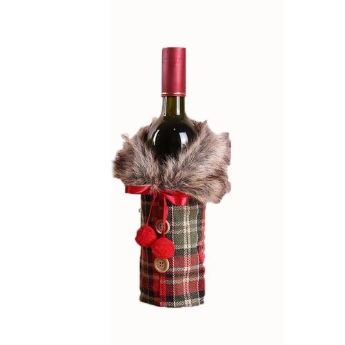 Weihnachtspullover Weinflaschenabdeckung