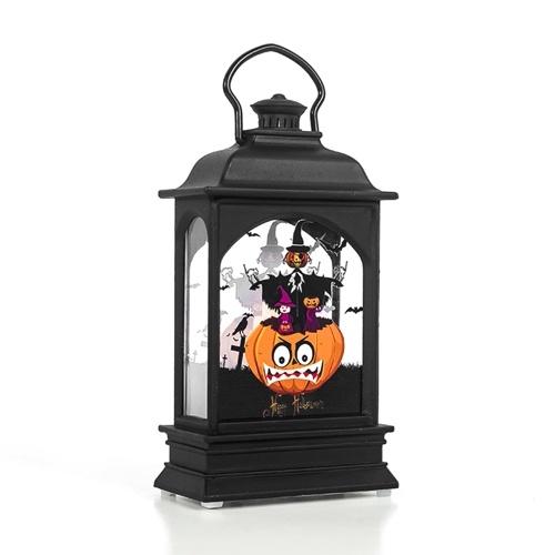 Halloween transparente Laterne Nacht Dekor