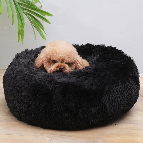 Cama de lujo mullida para mascotas para perros, gatos, perros y gatos.