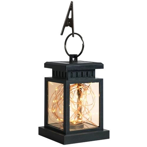 LED Solar Lights Garden Lights Hanging Lantern Star Candle Shape