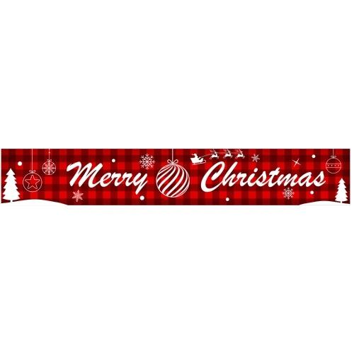 9.84ft joyeux Noël bannière suspendue décor de Noël
