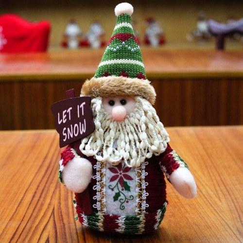 Ornamento a forma di Babbo Natale da scrivania per decorazioni natalizie