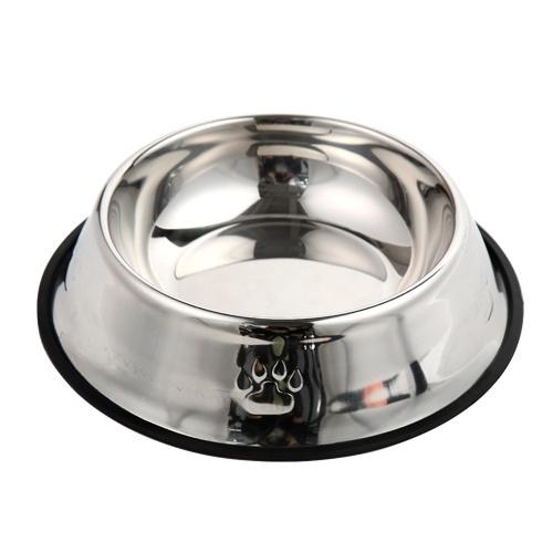 Cuenco para perros y gatos Cuencos para mascotas de acero inoxidable Alimentador antideslizante o alimentador de agua