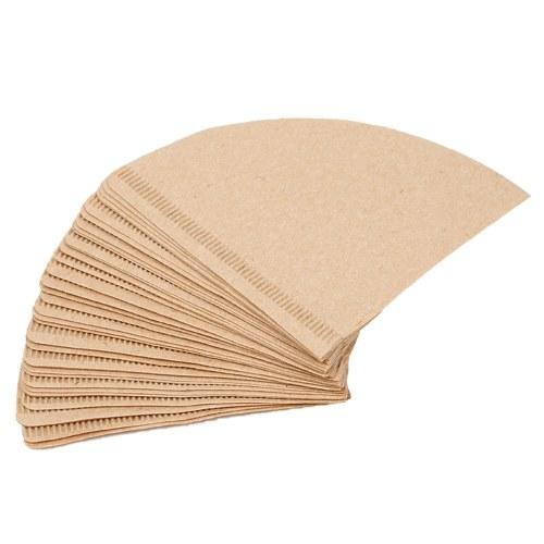 Unbleached Dripper Filter Cone Paper Coffee Filter