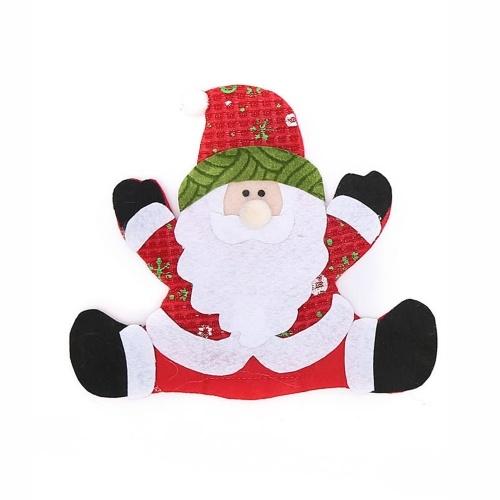 Mini Weihnachtsbesteck Geschirrhalter Mini Santa Besteckhalter Candy Covers