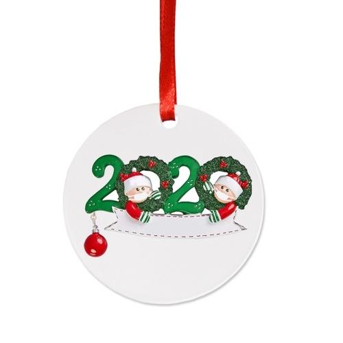 Ornamento sveglio dell'albero di Natale delle bambole di Natale