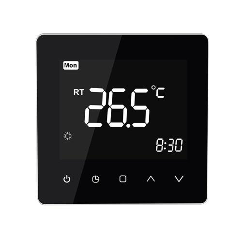 Controlador de temperatura de pantalla táctil LCD con termostato inteligente WiFi