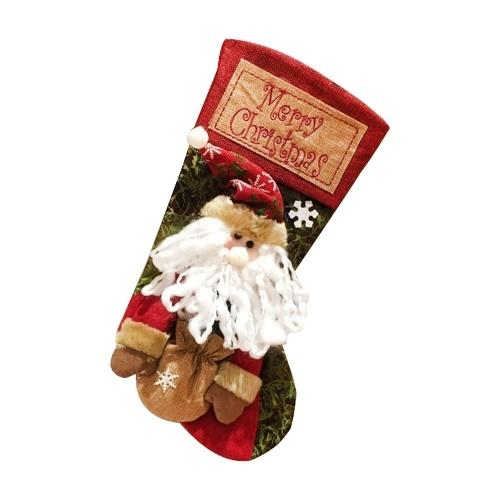 Meia de Natal, Meia de Natal Clássica 20 '' (Papai Noel)