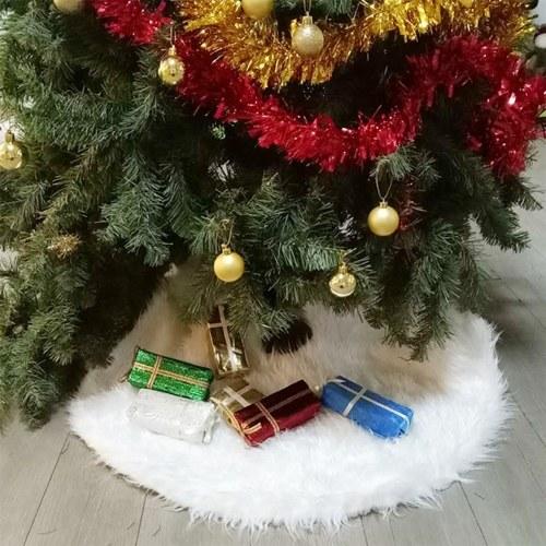 Saia para árvore de natal de 30 polegadas Saia para árvore de natal reutilizável