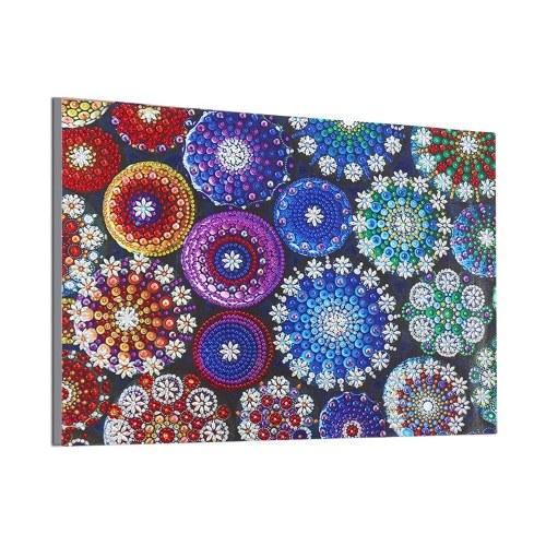 DIY 5D Diamantmalerei Blumenmuster Speziell geformte Diamantstickerei Wohnkultur