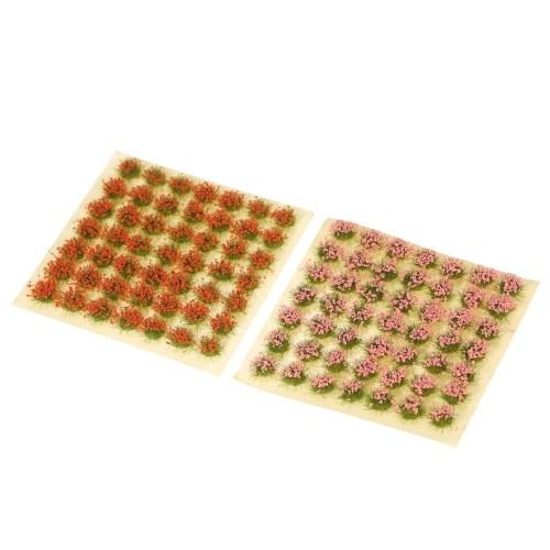 Modell Grasbüschel Blumenbüschel Sandtisch Außenlandschaft Grasbüschel Modell DIY Miniaturszene