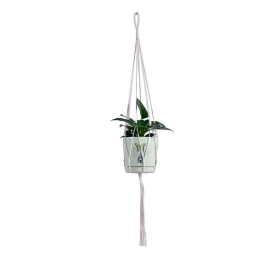 Soporte decorativo para macetas de macramé para colgar plantas