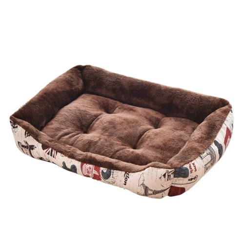 Self-Warming Cat Bed Pad Dogs Cushion Bed