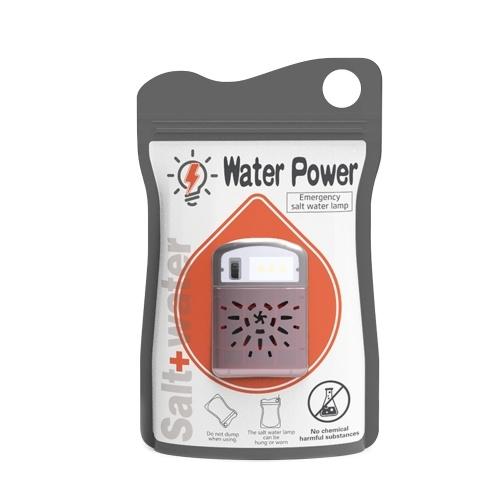Notsalzwasserlampe