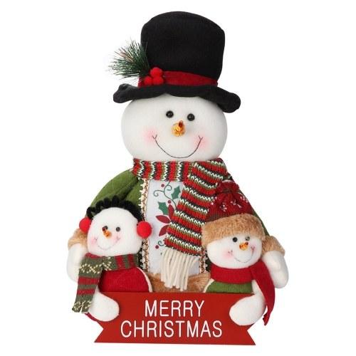 Weihnachten Schneemann Ornamente