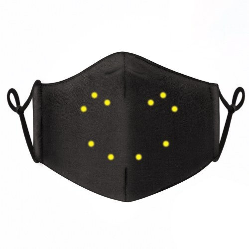 Voice-activated Luminous Mask