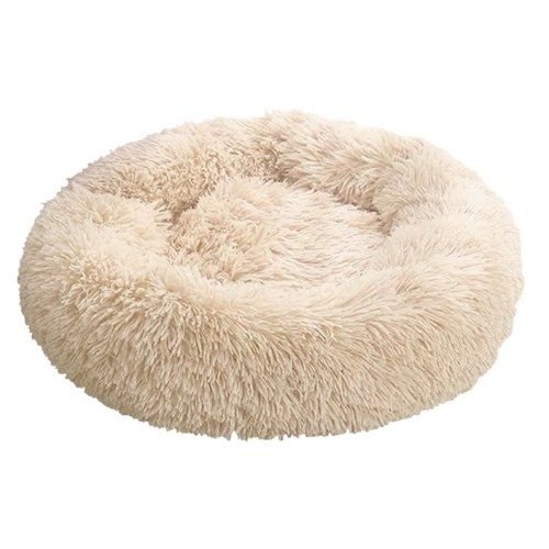 Cama de lana mullida para perros