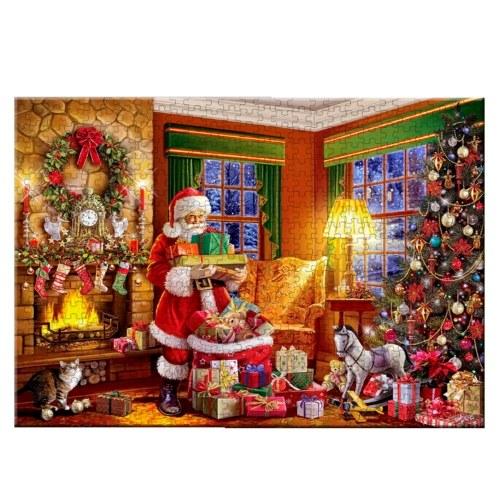 Rompecabezas de Santa Claus