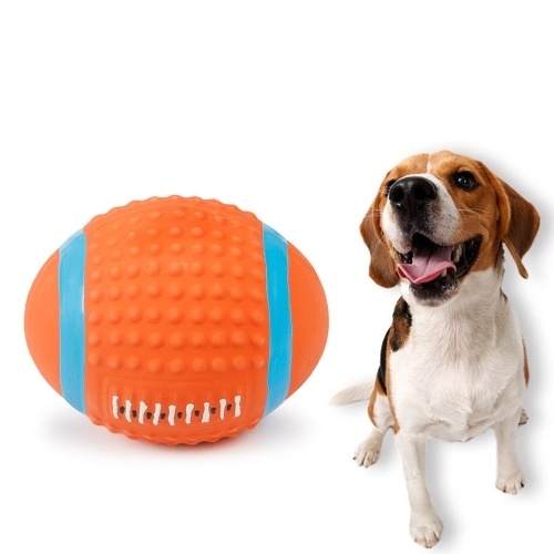 Squeaky Latex Dog Toys Pet Dogs Balls Toy