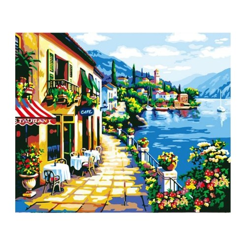 12*16 Inch DIY Oil Painting on Canvas Paint