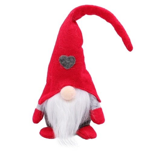 Christmas Decoration Rudolph Forest Old Man Love Stand Action Figure