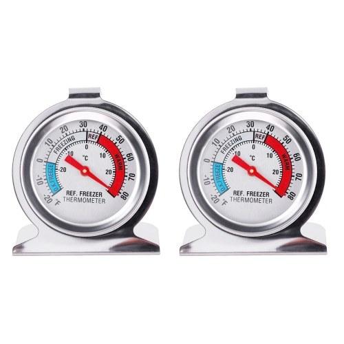 2er Pack Kühlschrankthermometer
