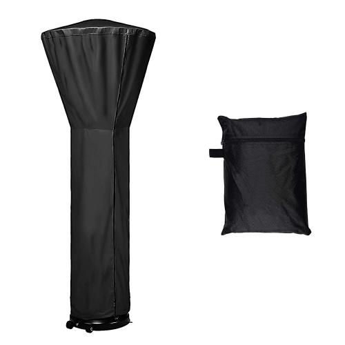 Cubierta de calentador de patio negro de 2210 * 850 * 480 mm