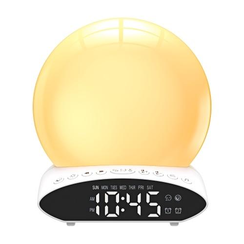 Despertador con luz despertador