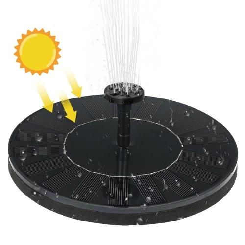 800mAh Solarbetriebene Brunnenwasserpumpe