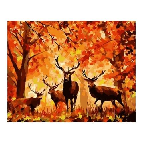Pintura al óleo DIY de 12 x 16 pulgadas sobre lienzo