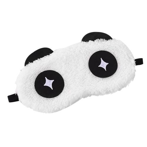 Cartoon Eyeshade Lovely Expression Style Augenmaske Travel Home Verwenden Sie Soft Comfortable Sleep Augenbinde