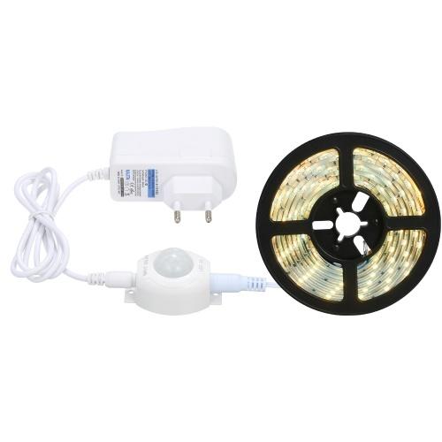 Tira de luz LED blanca cálida (enchufe de la UE)
