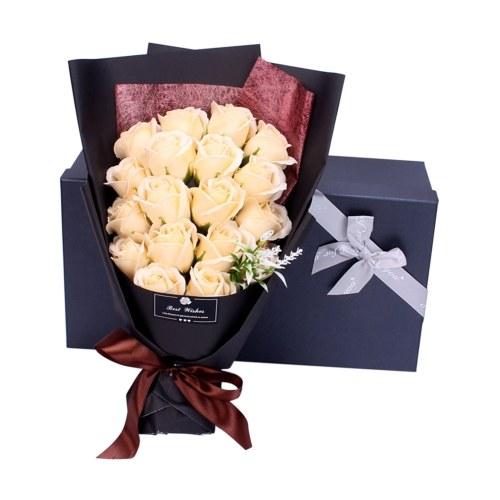 18PCS Soap Rose Flower