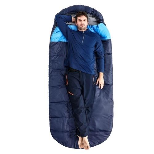 ABODY Saco de dormir 5-15 ℃ para adultos con saco de compresión Portátil Ligero Impermeable para todas las estaciones Camping Senderismo y otras actividades al aire libre