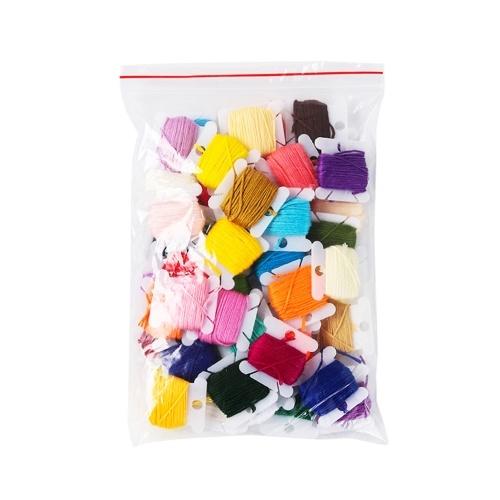 Juego de 36 colores R-ainbow Embroidery F-loss 36