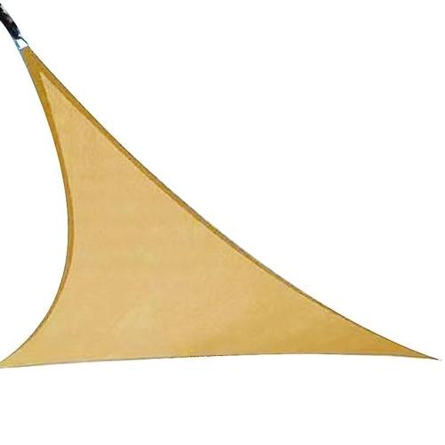 Toldo para toldo con toldo triangular derecho, color beige