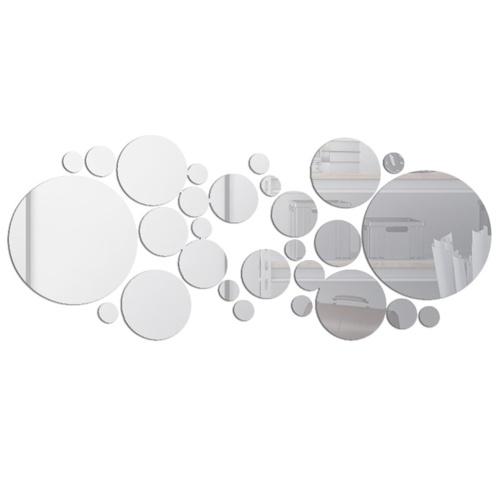 30PCS Mirror Wall Decals